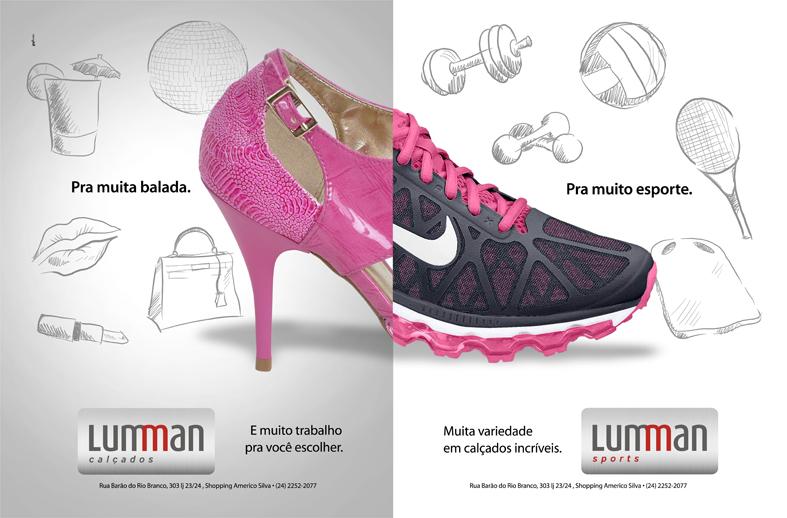 Anúncios Lumman Calçados