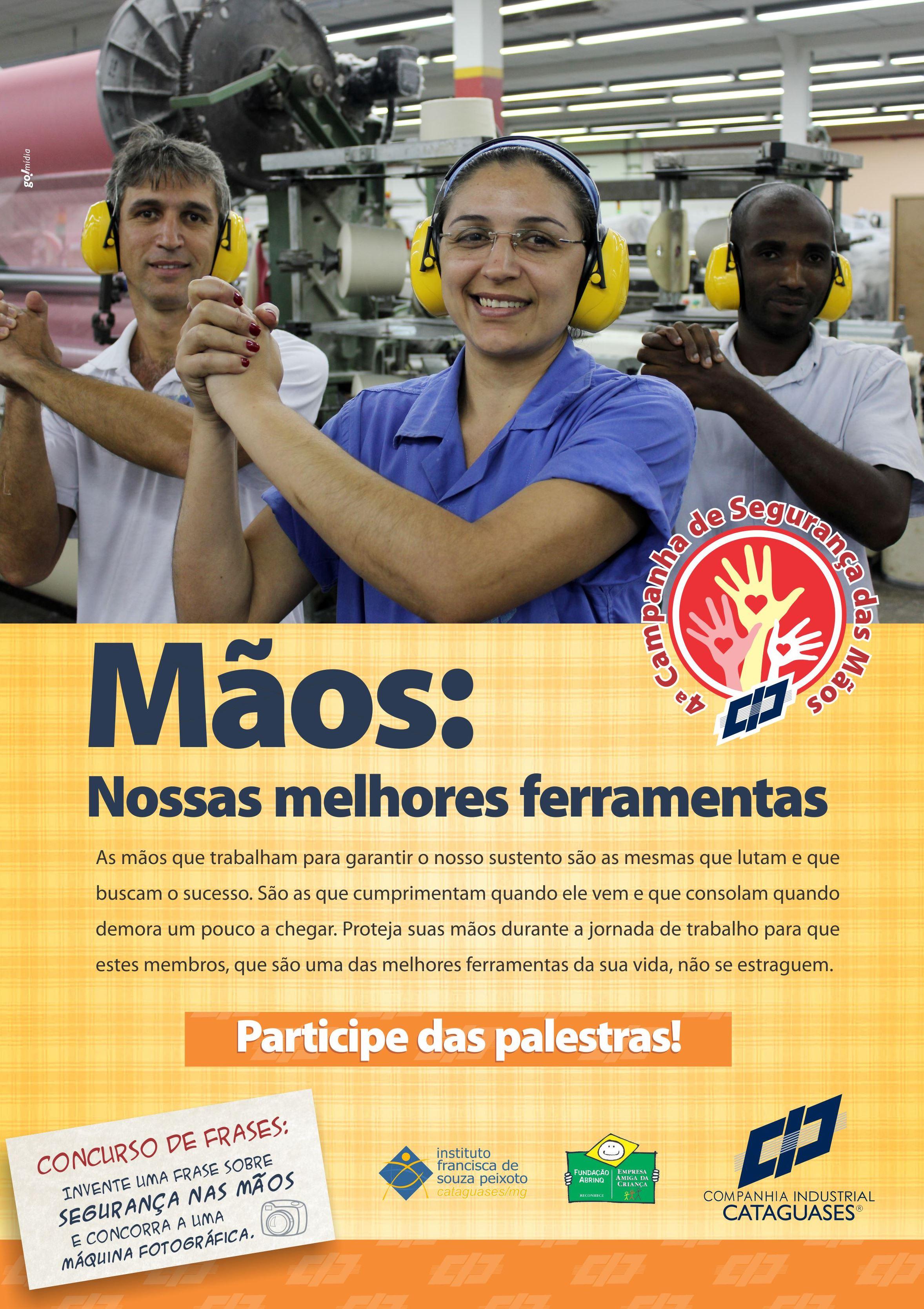 Cataguazes – Campanha mãos