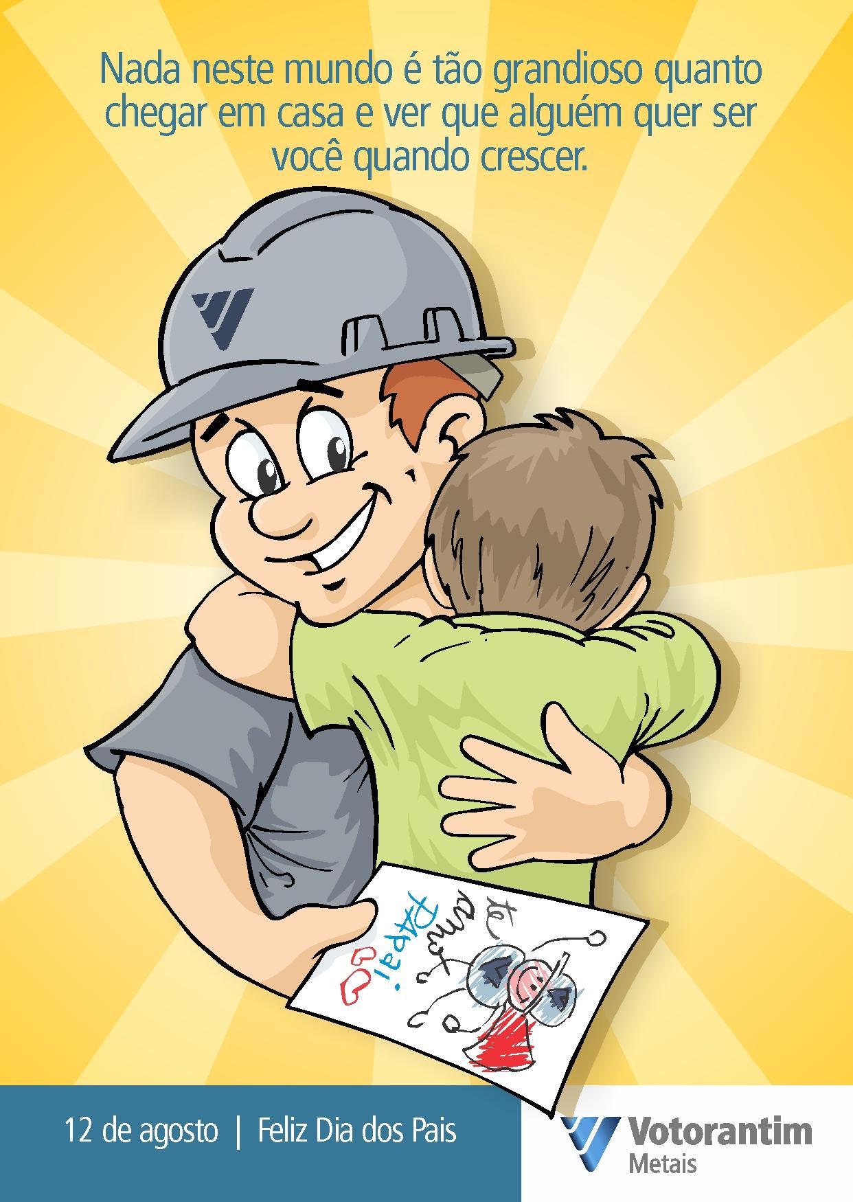 Votorantim – Cartão dia dos pais