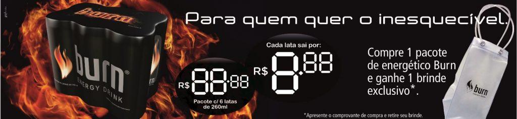 Burn – Banner preço