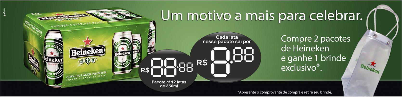 Heineken – banner preço
