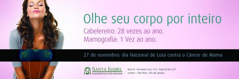 Santa Isabel – Campanha câncer de mama