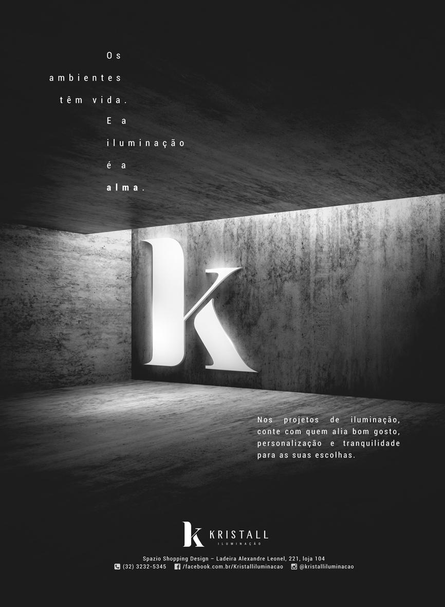 Kristall – Anúncio para revista