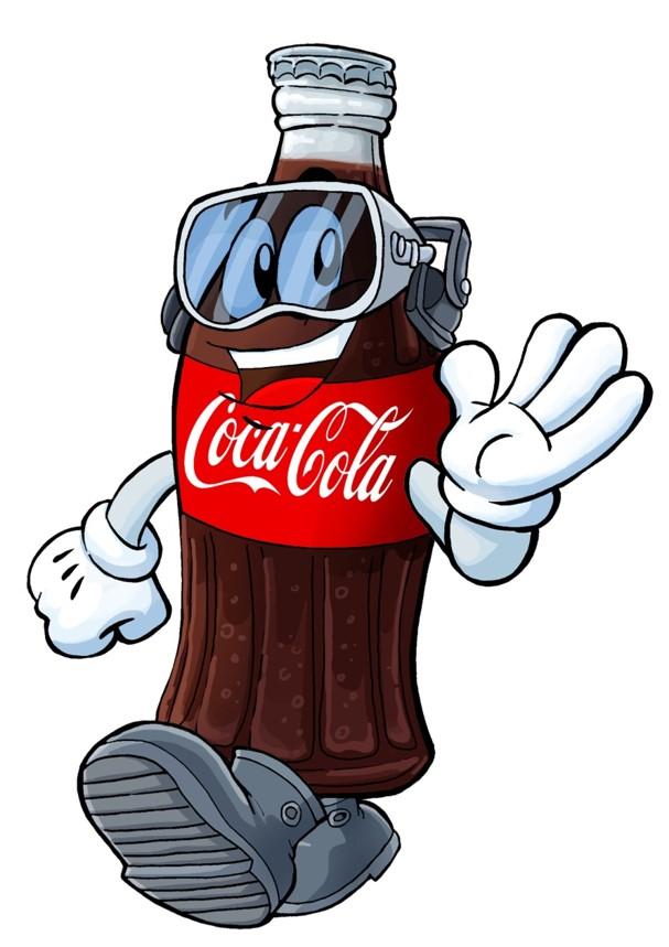 Coca-Cola – Mascote Segurança