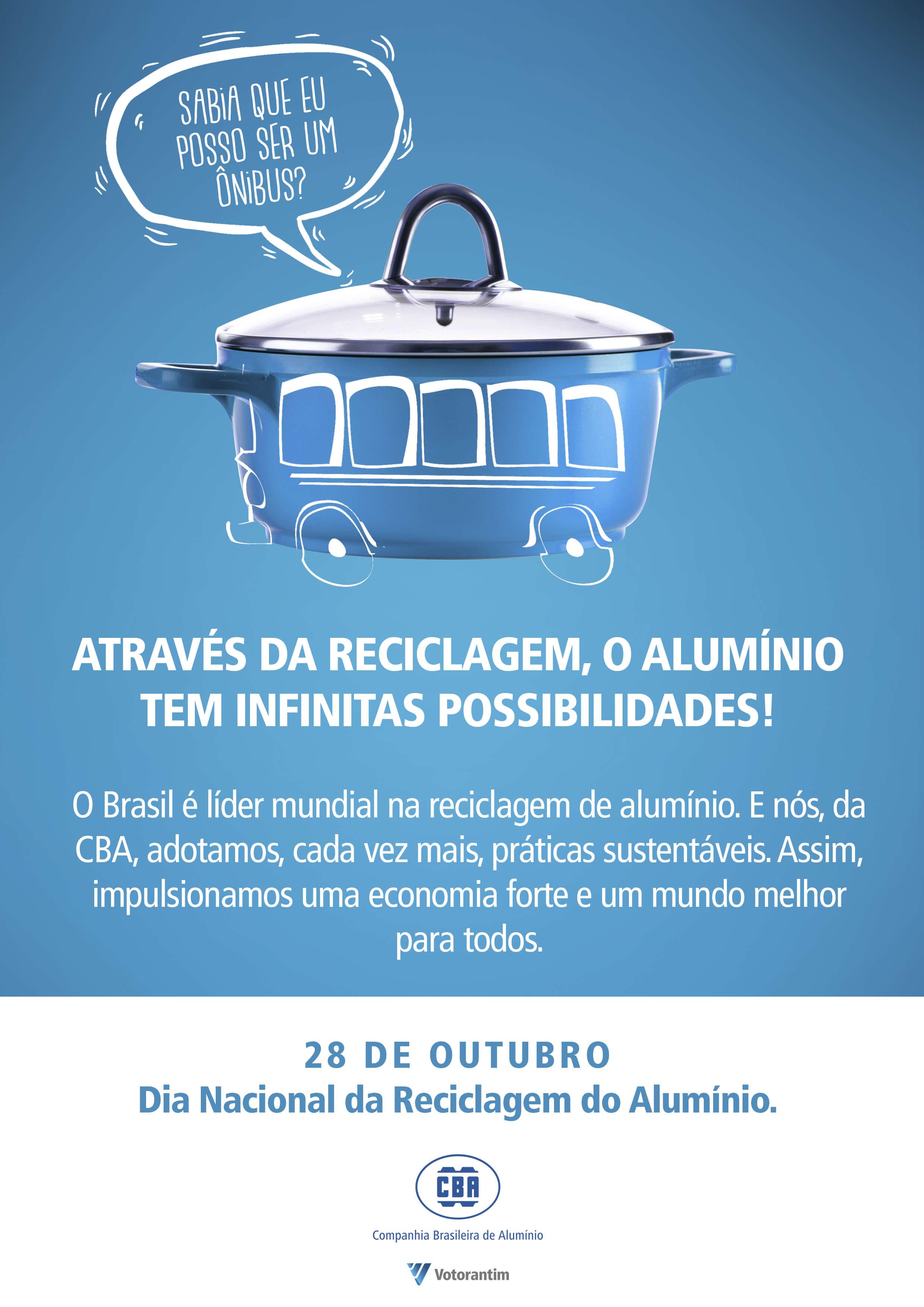 CBA – Dia Nacional da Reciclagem do Alumínio