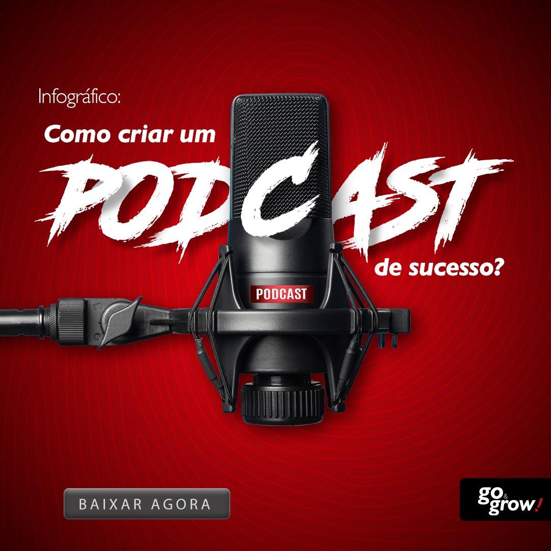 Infográfico: como criar um podcast de sucesso?