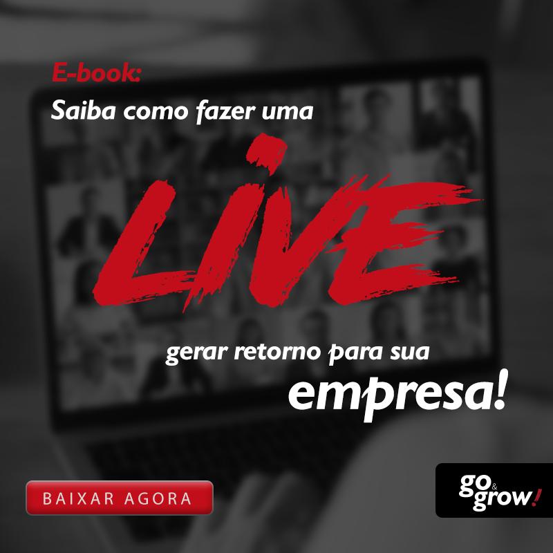 E-book: Saiba como fazer uma live gerar retorno para sua empresa!