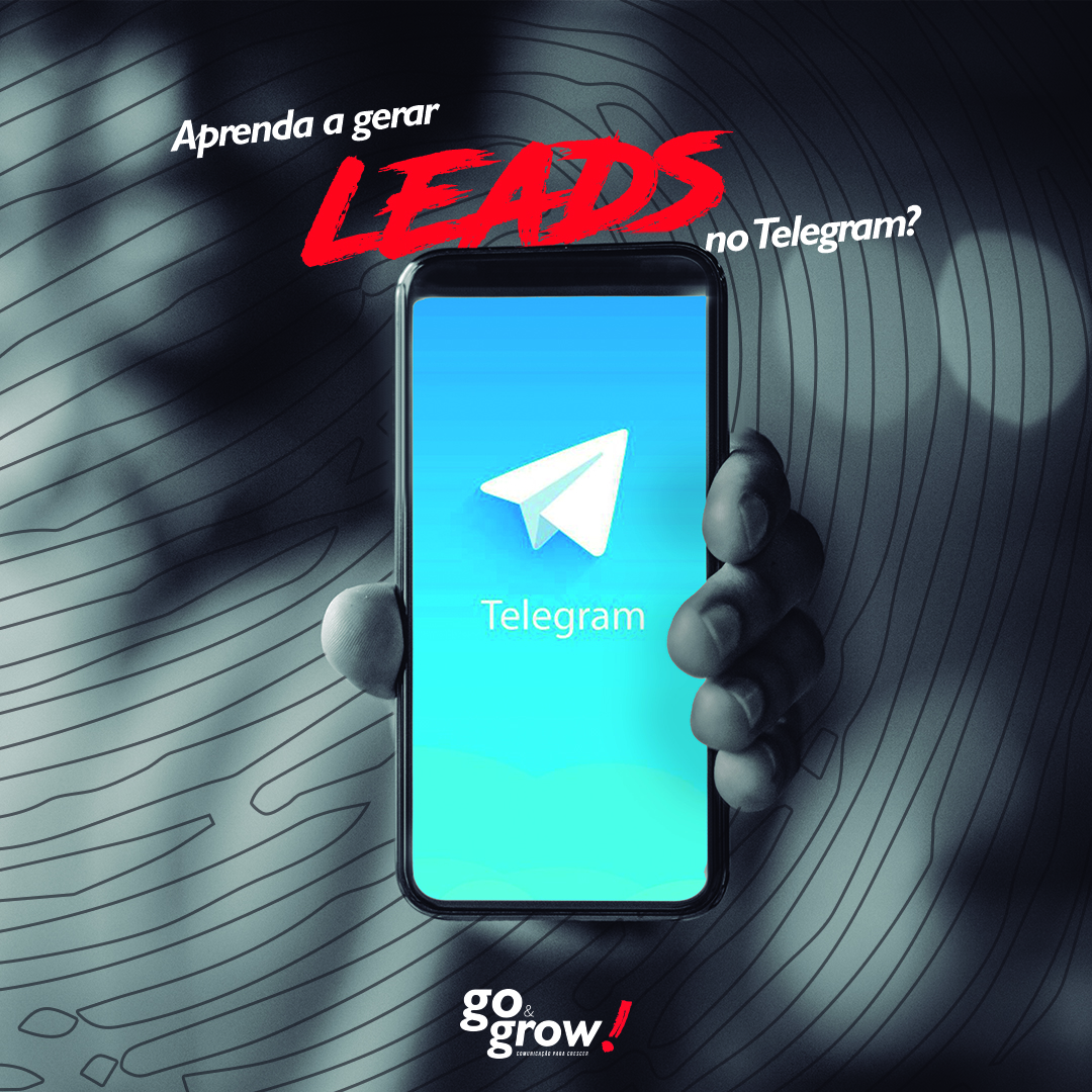 Aprenda a gerar leads no Telegram